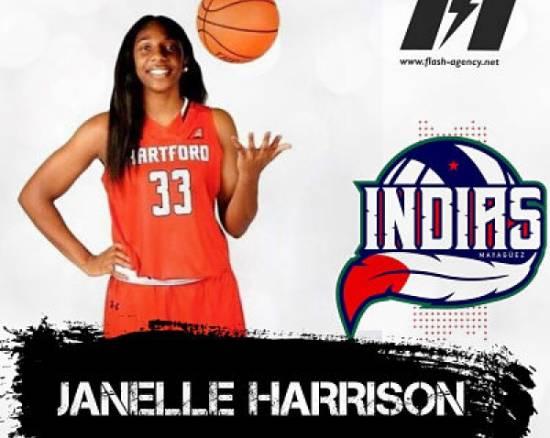 Janelle Harrison has signed with Indias Mayaguez