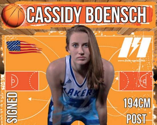 Cassidy Boensch has signed with Flash Agency