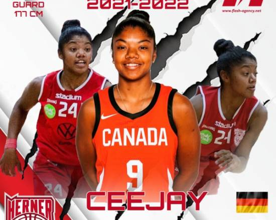 Cassandra Nofuente has signed with Herne TC Basket