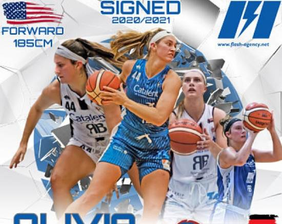 Olivia Nash has signed with SV Halle Lions