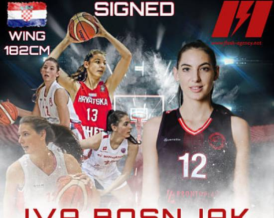 Iva Bosnjak has signed with Flash Agency