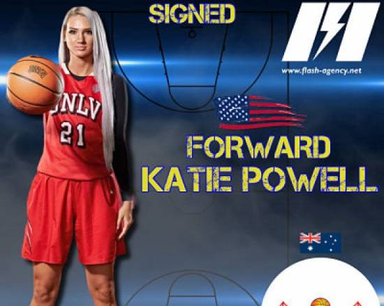 Katie Powell has signed with Brisbane Capitals