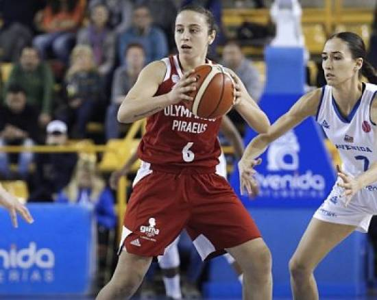 Maria Avtzi has re-signed with Olympiakos Piraeus