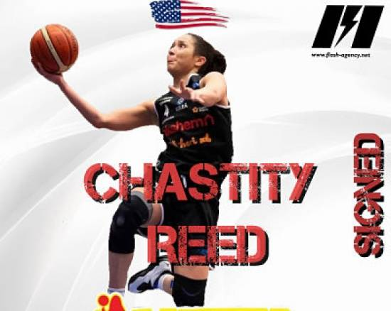Chastity Reed has signed with Gigantes de Carolina