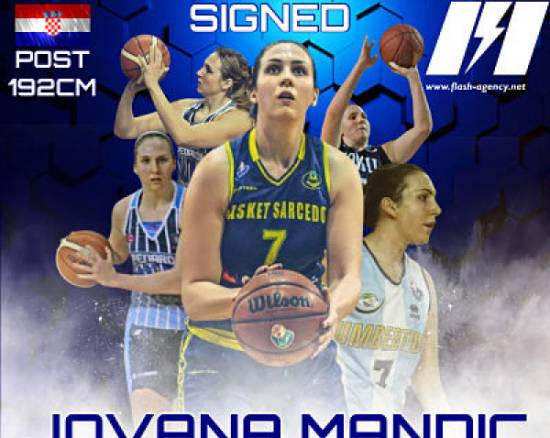 Jovana Mandic has signed with Flash Agency