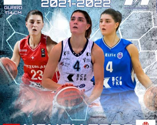 Nancy Fora has re-signed with Elfic Fribourg