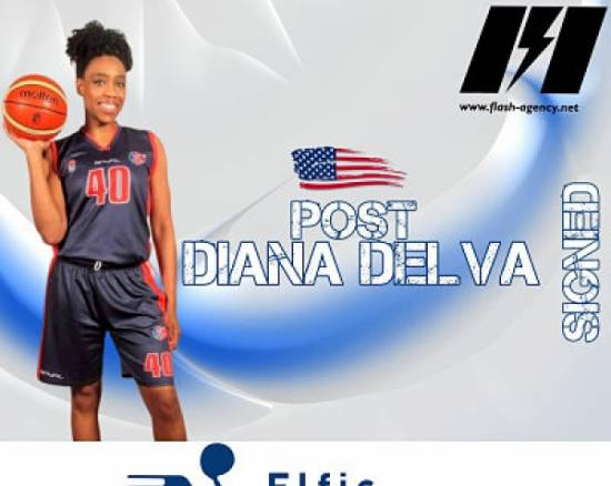 Diana Delva has signed with Elfic Fribourg