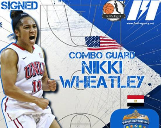 Nikki Wheatley has signed with Gezirt El Ward