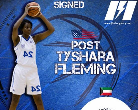 Tyshara Fleming has signed with Alfatat Sport Club