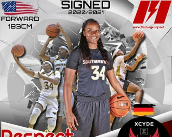 Respect Leaphart has signed with XCYDE Angels