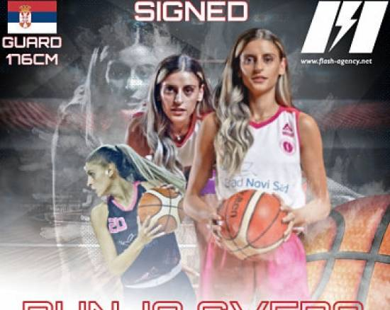 Dunja Gvero has signed with Flash Agency