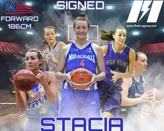 Stacia Robertson has signed with Flash Agency