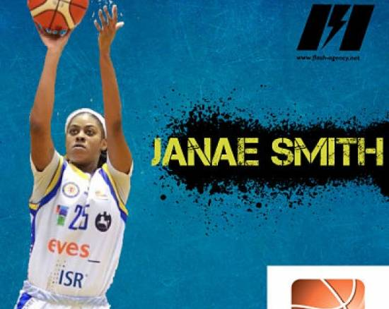 Janae Smith has signed with BC Horizont