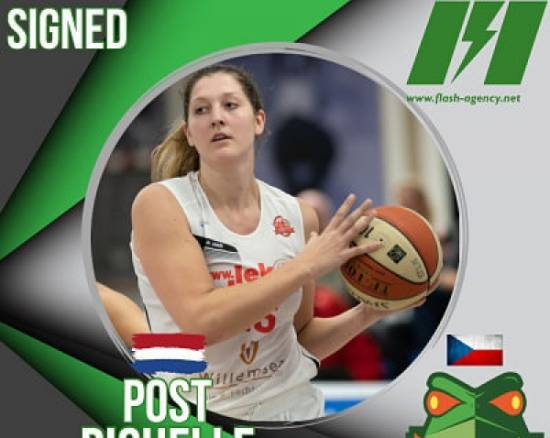 Richelle Van der Keijl has signed with Zabiny Brno