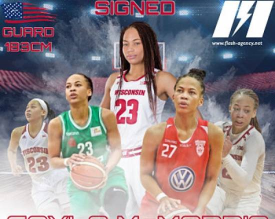 Cayla McMorris has signed with Flash Agency