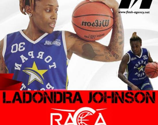 Ladondra Johnson has signed with RACA Granada