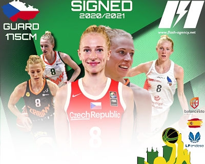 Petra Zaplatova has signed with Al Qazeres Extremadura