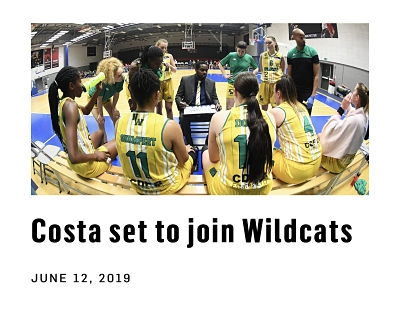 Simone Costa has signed with the team of Nottingham Wildcats